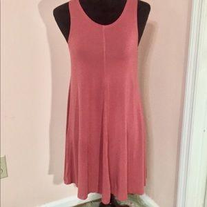 NEW Lulu's Rust Sleeveless Dress